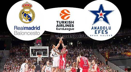 BASKETBALL EUROLEAGUE / REAL MADRID VS. OLYMPIACOS / MADRID