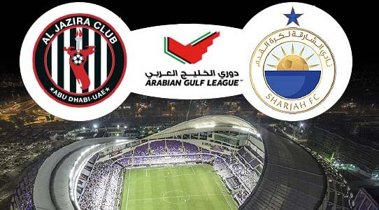 ARABIA GULF LEAGUE / AL-JAZIRA VS. SHARJAH / ABU DHABI / UNITED ARAB EMIRATES