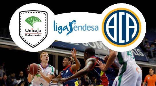 ACB LIGA ENDESA / UNICAJA VS. MORABANC ANDORRA / MÁLAGA