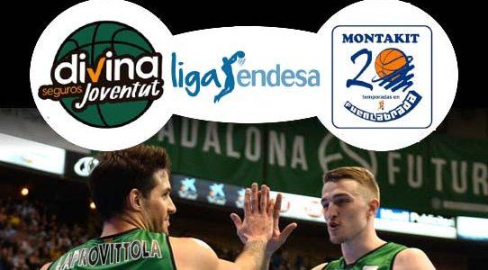 ACB LIGA ENDESA / DIVINA SEGUROS JOVENTUT VS MONTAKIT FUENLABRADA / BARCELONA