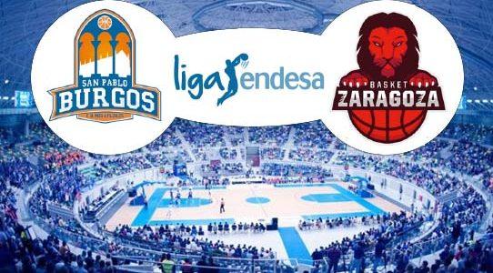 ACB LIGA ENDESA / SAN PABLO BURGOS VS TECNYCONTA ZARAGOZA / BURGOS