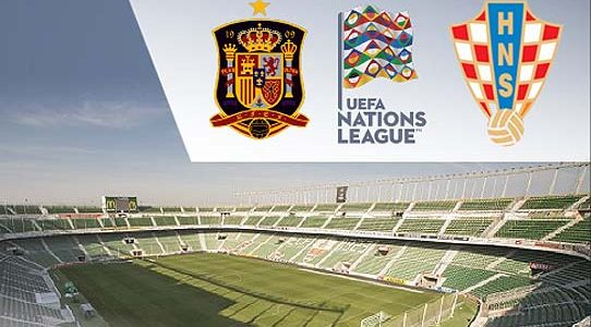 UEFA NATIONS LEAGUE / ESPAÑA Vs. CROACIA / La 1 / TVE / ELCHE