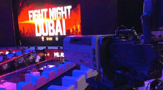 FIGHT NIGHT DUBAI / UNITED ARAB EMIRATES