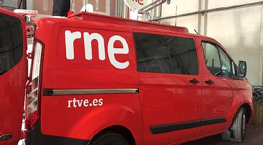 OB VAN 5 AUDIO TRANSMISSION FOR RNE / MADRID