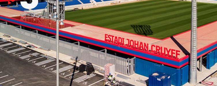 VAV  BROADCAST / TV3 / FOOTBALL 2nd DIVISION / FC BARCELONA VS NÀSTIC / BARCELONA