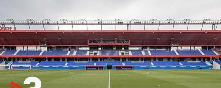 VAV BROADCAST / TV3 / FOOTBALL / 2nd DIVISION B / FC BARCELONA vs LLEIDA / BARCELONA