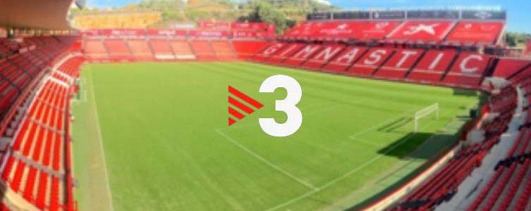 VAV BROADCAST / TV3 / FOOTBALL / 2ND DIVISION B / TARRAGONA / SPAIN