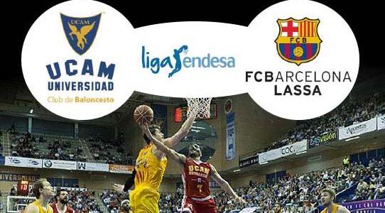 LIGA ACB ENDESA / UCAM MURCIA VS. FC BARCELONA LASSA / MURCIA