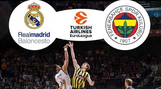 EUROLIGA DE BALONCESTO / REAL MADRID VS. FENERBAHCE / MADRID