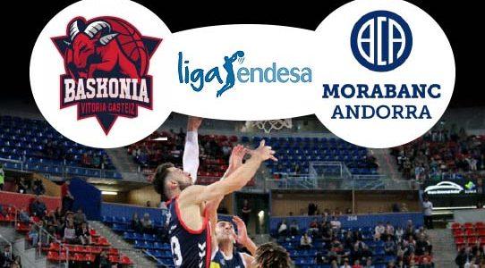 ACB LIGA ENDESA / BASKONIA VS. MORABANC ANDORRA / VITORIA