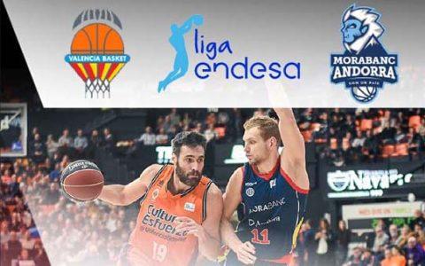 ACB LIGA ENDESA / VALENCIA BASKET VS MORABANC ANDORRA / VALENCIA