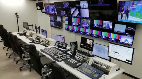 ENTREGA DEL ESTUDIO DE PRODUCCIÓN AUDIOVISUAL HD EN LA CCMA / TV3 / BARCELONA