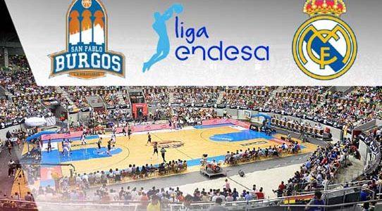 ACB LIGA ENDESA / SAN PABLO BURGOS VS. REAL MADRID / BURGOS