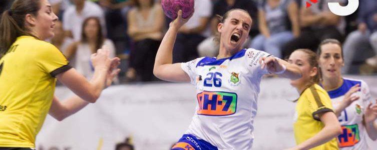 VAV BROADCAST / TV3 / BALONMANO FEMENINO EHF EUROPEAN CUP / BARCELONA