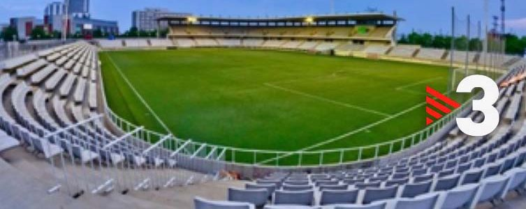 VAV BROADCAST / TV3 / FÚTBOL 2da B / CE L'HOSPITALES VS FC BARCELONA / BARCELONA