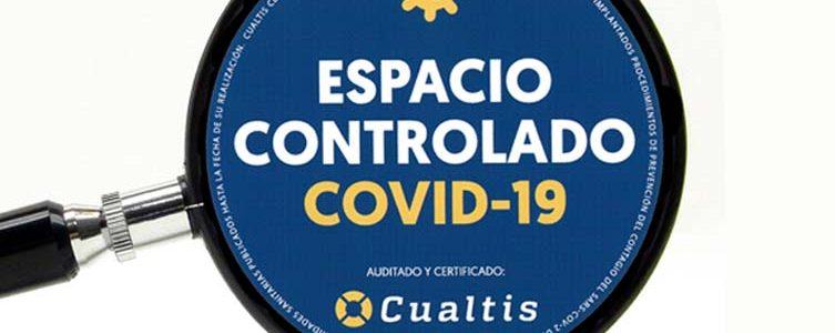 VAV GROUP / CERTIFICADO ESPACIO CONTROLADO COVID-19 / MADRID