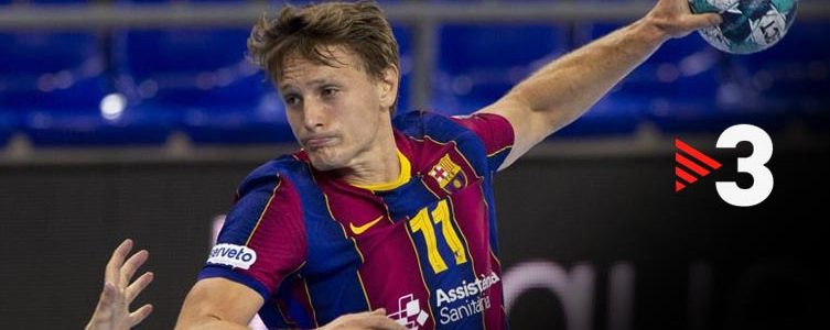 VAV BROADCAST / TV3 / EHF / CHAMPIONS LEAGUE / BARCELONA