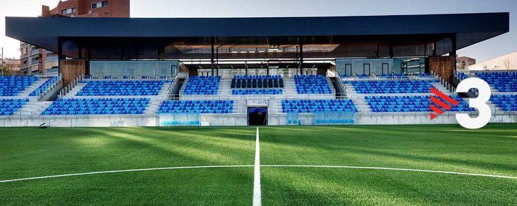 VAV GROUP / TV3 / FUTBOL 2ª B / FC BADALONA VS BARCELONA B / BARCELONA